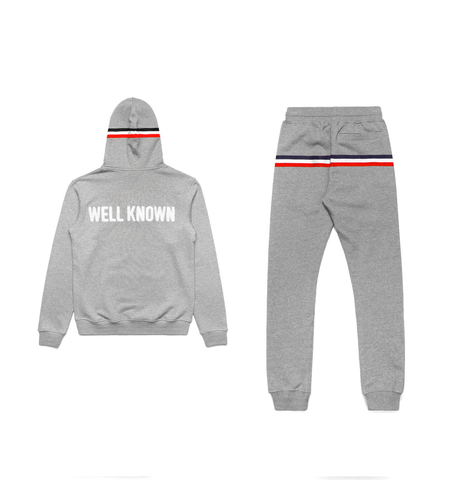 BOWERY GREY JOGGER SUIT