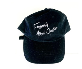 FAQ STRAPBACK BLACK