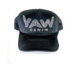 YAW CRYSTAL HAT BLACK