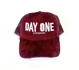 DAY ONE BURGUNDY SUEDE  SNAP