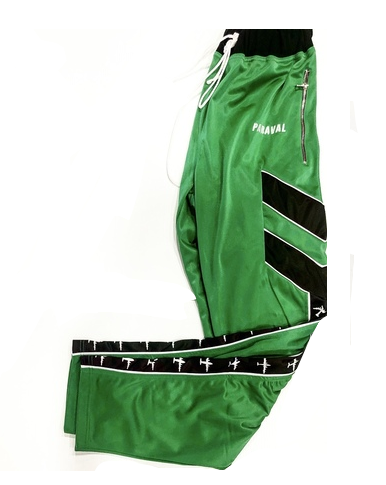 PARAVAL GREEN  AIRPLANE JOGGERS