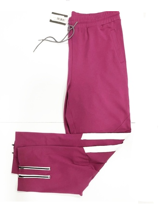 LUX SAVAGE HOT PINK SLIM FIT JOGGERS