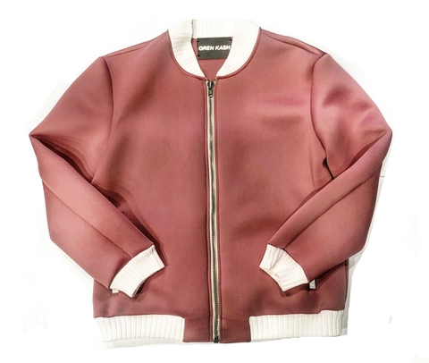 OREN CASH SALMON LIGHT SPRING BOMBER