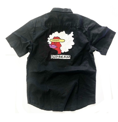 GONZ  SHORT SLEEVE BUTTON UP