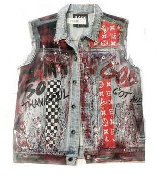 THANK GOD CUSTOM LV VEST