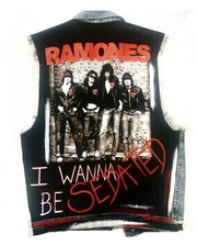 RAMONES CUSTOM  DENIM VEST