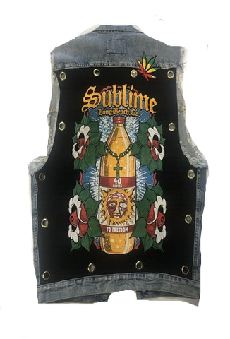 SUBLIME CUSTOM DENIM VEST