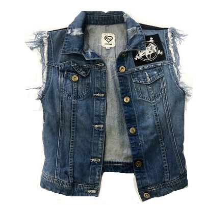 SLAYER CUSTOM DENIM VEST