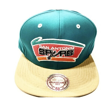 SPURS TEAL STRAP BACK