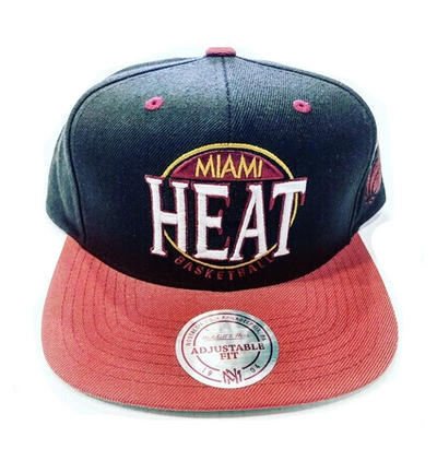MIAMI HEAT LOGO SNAP BACK