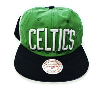 CELTICS BIG LOGO STRAP BACK