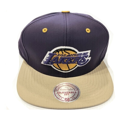 LAKERS PURPLE STRAP BACK