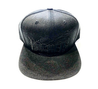 ROCKETS SNAPBACK BLACKOUT