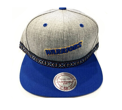 WARRIORS GREY SNAPBACK