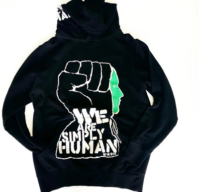 WE ARE HUMAN BLACK
