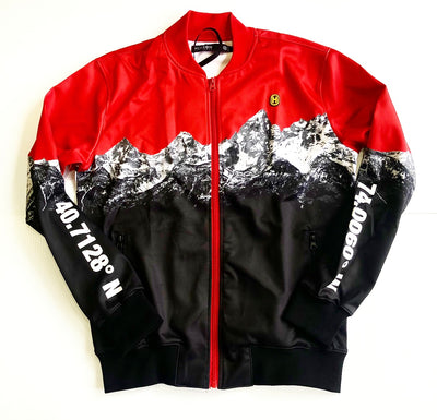 RED MOUNTAIN TRACK JACKET