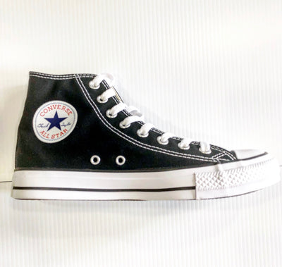 BLACK ALL STAR  CHUCKS HIGH TOP