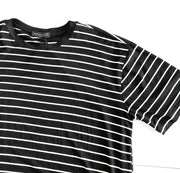 BLACK CREAM STRIPE