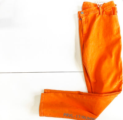 ORANGE SLIM FIT STRETCH PANTS