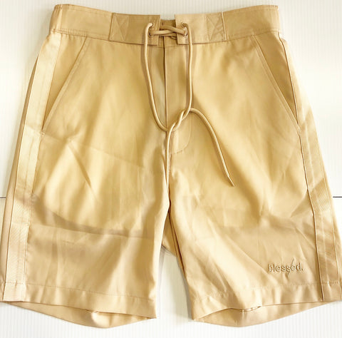 TAN HIGH SHORTS