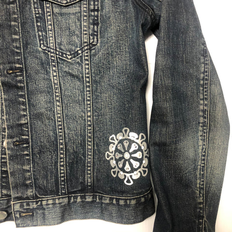 SOCIAL DISTANCING DENIM JACKET