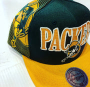 PACKERS SNAPBACK GREEN