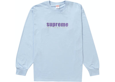 SUPREME THE REAL LIGHT BLUE