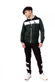 MONEY GREEN ZIPPED TRACKSUIT