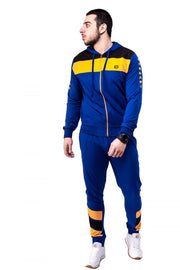 ROYAL BLUE ZIPPED TRACKSUIT