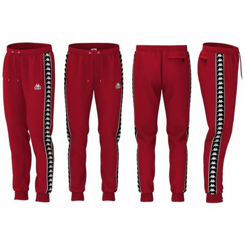 222 BANDA RASTORIAZZ RED TRACK PANTS