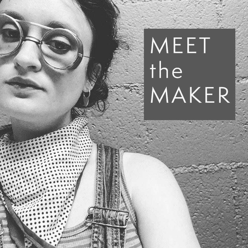 Meet the Maker - Emily Phillips from Fulcrum Jewelry