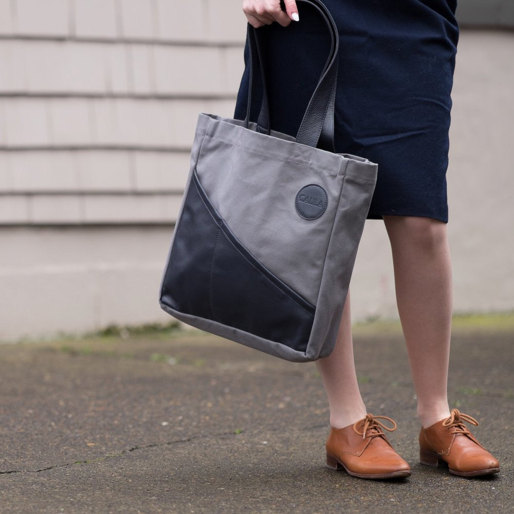 Sarah Cambray and Focus on Minimalist Design with The Commuter Leather Tote