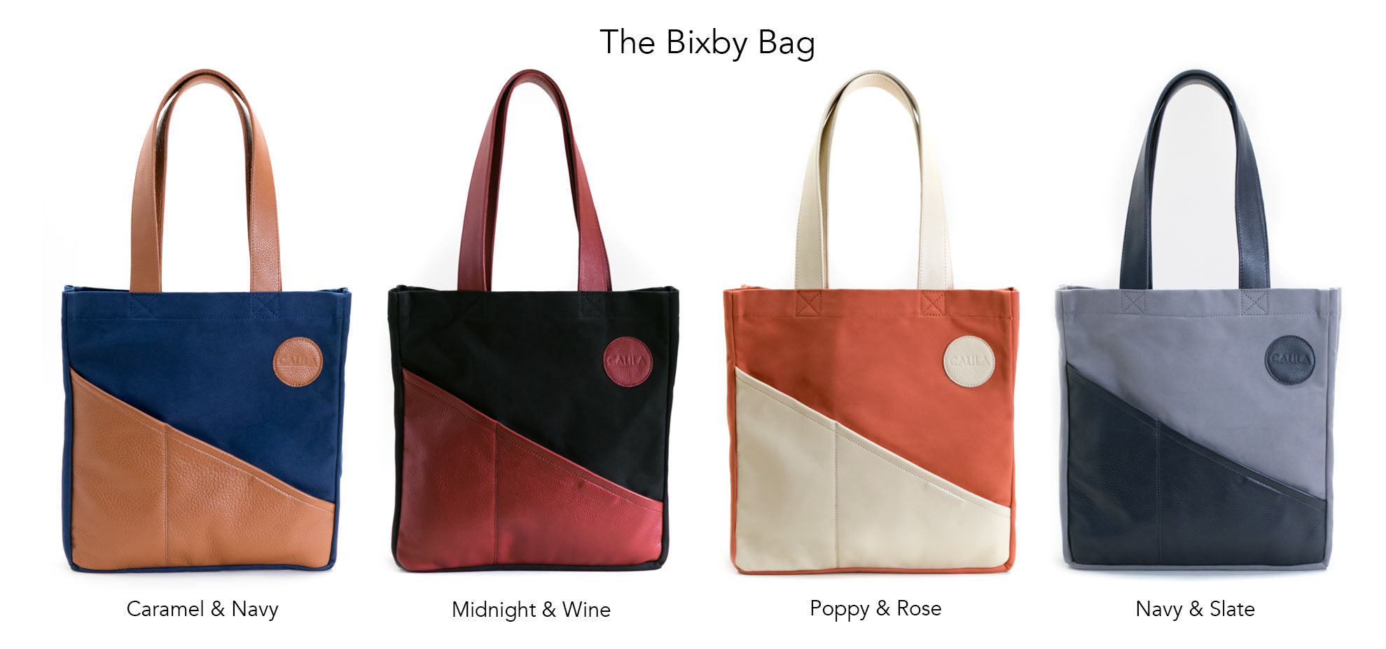 Made in Downtown Los Angeles - The Bixby Bag by Calila Designs L.A.