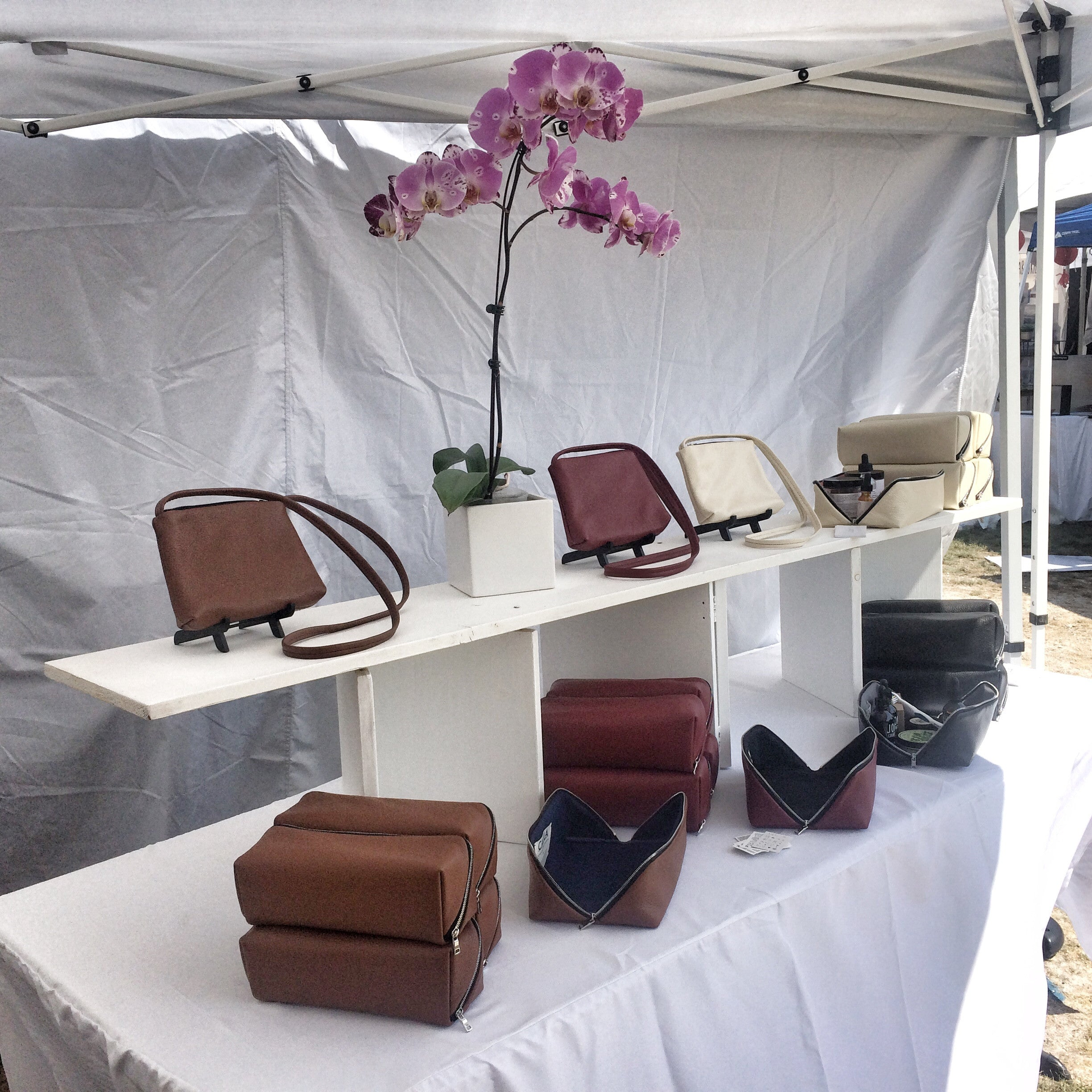 Renegade Craft Fair Los Angeles Calila Leather Goods Design