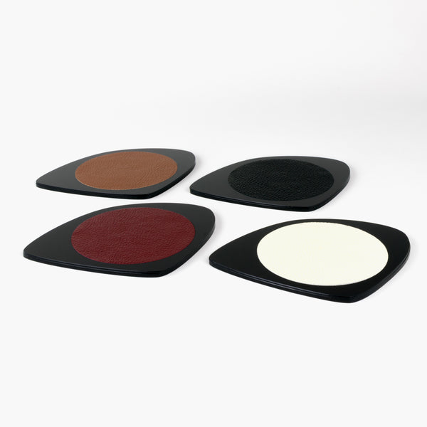 Shapes Coaster A - Four Pack