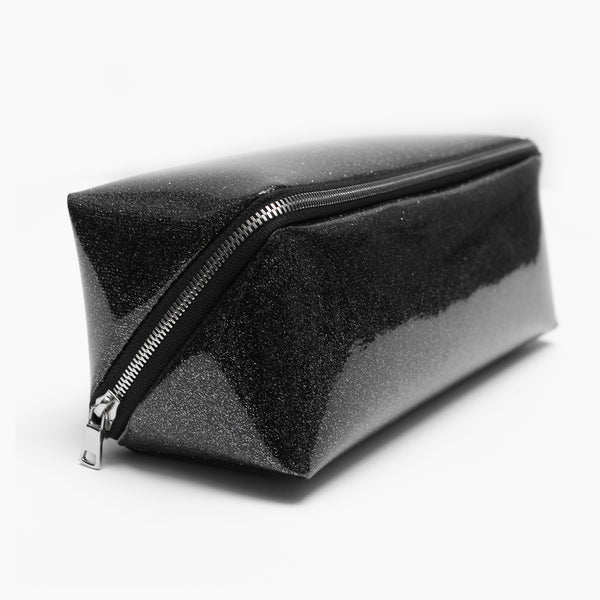 The Day Tripper - Travel Dopp Kit - Celestial Vinyl Black/Black