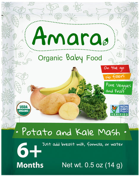Amara Organic Baby Food - Kale Potato Mash