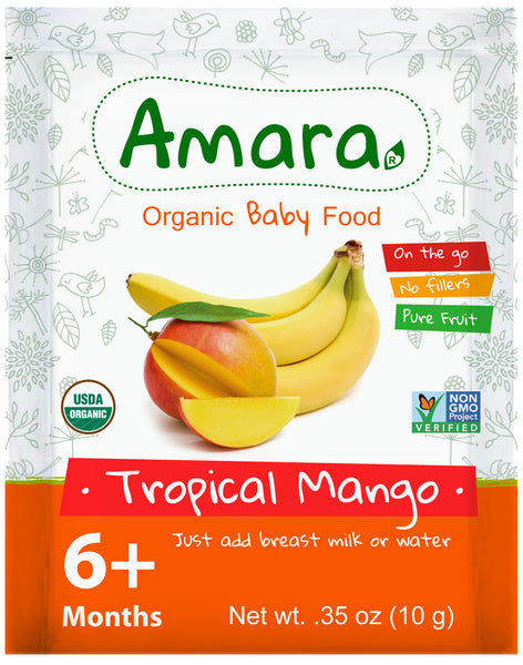 Amara Organic Baby Food - Mango and Banana