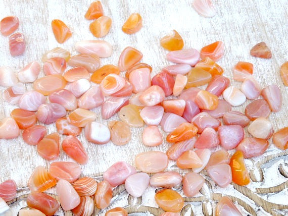 Apricot Agate Crystals