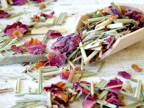 Lemongrass Rose Tea