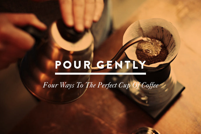 Pour-over Coffee Brewing Methods