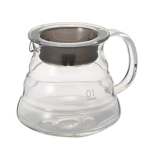 Hario V60 Clear Glass Range Server