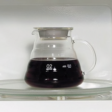 Load image into Gallery viewer, Hario V60 Clear Glass Range Server