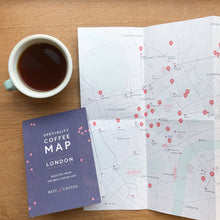 Load image into Gallery viewer, Speciality Coffee Map - London