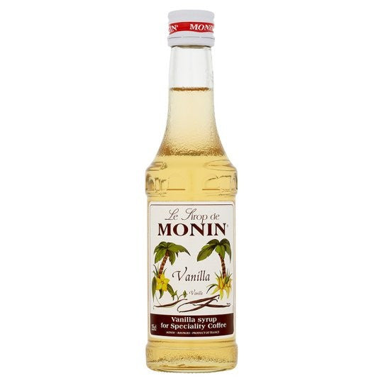 Monin Vanilla Syrup 250ml
