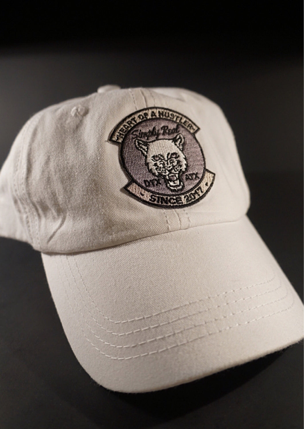 White Beast Dad Hat
