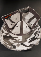 Black Grey white Camo Hat