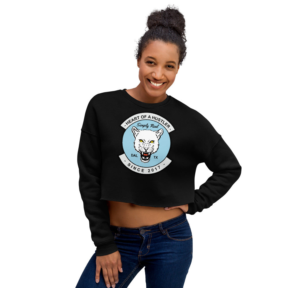 Womens Crop Sweatshirt