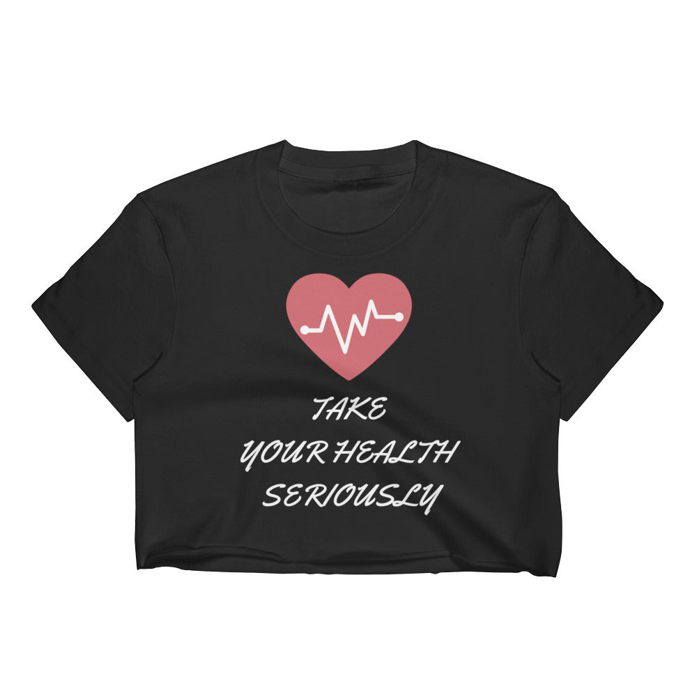 Women's HEALTH Crop Top