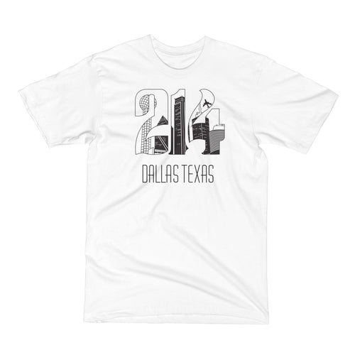 Men's White 214 T-Shirt